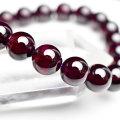 ロードライトガーネット 6月誕生石 ブレスレット 天然石 パワーストーン 数珠