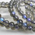 ラブラドライト ブレスレット 数珠 シラー 天然石 パワーストーン