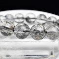エレスチャル 骸骨水晶 スケルタル ジャカレー チベット産 ブレスレット 数珠 天然石 パワーストーン