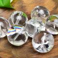 アイリスクォーツ 粒売り ばら売り レインボークォーツ 天然水晶 ビーズ オンビル 天然石 パワーストーン