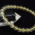リビアングラス ブレスレット 天然ガラス リビアガラス エジプト産 天然石 アップストーン オンビル