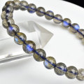 ラブラドライト パワーストーン ブレスレット 数珠 ラブラドレッセンス マダガスカル産 天然石