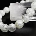 エンジェルフェザー フローライト ブレスレット 数珠 パワーストーン 蛍石 天然石