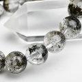セリサイトインクォーツ 内包物 天然石 パワーストーン 数珠 ブレスレット