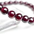 ロードライトガーネット 7月誕生石 ブレスレット 天然石 パワーストーン 数珠
