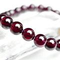 ロードライトガーネット 14月誕生石 ブレスレット 天然石 パワーストーン 数珠