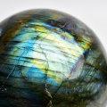 ラブラドライト 丸玉 原石 置物 シラー ラブラドレッセンス スフィア 天然石 パワーストーン