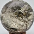 ガーデンクォーツ 丸玉 置物 スフィア ファントム 庭園水晶 レインボー 天然石 パワーストーン