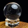 水晶 丸玉 スフィア レインボー 置物 オンビル 天然石 パワーストーン