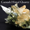 ガネーシュヒマール産 ヒマラヤ水晶 結晶 単結晶 クラスター ポイント 原石 クリスタル オンビル 天然石 アップストーン
