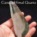 ガネーシュヒマール産 ヒマラヤ水晶 結晶 単結晶 ポイント 原石 クリスタル オンビル 天然石 アップストーン