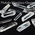 マカルー産 ヒマラヤ水晶 原石 結晶 ポイント ネパール 浄化 オンビル 天然石 アップストーン