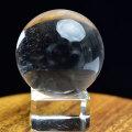天然水晶 丸玉 スフィア 虹入り水晶 レインボー水晶 置物 開運 風水 クリスタル クォーツ パワーストーン