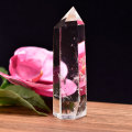 水晶 ポイント 六角柱 置物 インテリア 浄化 天然石 パワーストーン アップストーンオンビル