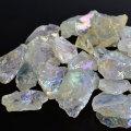 オーロラクォーツ ラフカット 原石 ラフ原石 詰め合わせ 蒸着水晶 コスモオーラ 水晶 パワーストーン