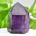 アメジストファントム アメジスト ポイント 六角柱 紫水晶 天然石 5月誕生石 置物 パワーストーン