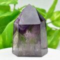 アメジストファントム アメジスト ポイント 六角柱 紫水晶 天然石 10月誕生石 置物 パワーストーン