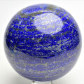 アフガニスタン産 ラピスラズリ 丸玉 置物 スフィア 青金石 瑠璃 天然石 パワーストーン