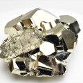 パイライト 原石 結晶 クラスター 黄鉄鉱 Pyrite Huanzala ワンサラ 天然石 パワーストーン