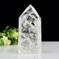 水晶ポイント 特大 大きめ 六角柱 ブラジル産 天然水晶 原石 置物 インテリア 浄化 天然石 パワーストーン