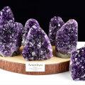 アメジストクラスター アメジスト クラスター カットベース 紫水晶 原石 ウルグアイ産 浄化 種類おまかせ