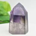 アメジストファントム アメジスト ポイント 六角柱 紫水晶 天然石 88月誕生石 置物 パワーストーン
