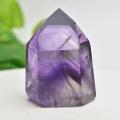 アメジストファントム アメジスト ポイント 六角柱 紫水晶 天然石 112月誕生石 置物 パワーストーン