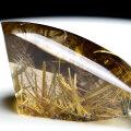 ゴールドルチル ルチルクォーツ 原石 磨き 置物 金運 天然石 パワーストーン