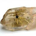 ゴールドルチル ルチルクォーツ クラスター 結晶 原石 ポイント 置物 金運 天然石 パワーストーン