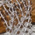 水晶 連 ビーズ ハンドメイド 素材 天然石 パワーストーン