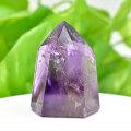 アメジストファントム アメジスト ポイント 六角柱 紫水晶 天然石 45月誕生石 置物 パワーストーン