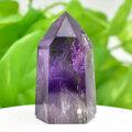 アメジストファントム アメジスト ポイント 六角柱 紫水晶 天然石 60月誕生石 置物 パワーストーン