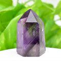 アメジストファントム アメジスト ポイント 六角柱 紫水晶 天然石 70月誕生石 置物 パワーストーン