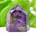 アメジストファントム アメジスト ポイント 六角柱 紫水晶 天然石 75月誕生石 置物 パワーストーン