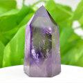 アメジストファントム アメジスト ポイント 六角柱 紫水晶 天然石 2月誕生石 置物 パワーストーン