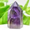 アメジストファントム アメジスト ポイント 六角柱 紫水晶 天然石 96月誕生石 置物 パワーストーン