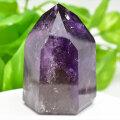 アメジストファントム amethyst 紫水晶 六角柱 ポイント 置物 天然石 パワーストーン