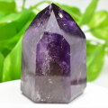 アメジストファントム アメジスト ポイント 六角柱 紫水晶 天然石 101月誕生石 置物 パワーストーン