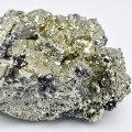 パイライト 黄鉄鉱 ペルー ラクラカンチャ pyrite 原石 結晶 アップストーン オンビル