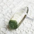 グリーンファントム ファントム水晶 ルース タンブル マクラメ ハンドメイド 内包物 天然石 パワーストーン