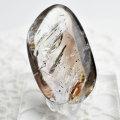 水入り水晶 アメジストエレスチャル エンハイドロクォーツ タンブル ルース マクラメ ワイヤー 素材 天然石 パワーストーン