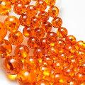 アンバー(人工)琥珀【4mm珠連売り:一連約40cm】激安卸価格で限定販売アンバー|琥珀|天然石|パワーストーン|連|連販売