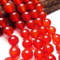 【半連】カーネリアン(赤めのう)【4mm珠:半連約20cm】激安卸価格で限定販売カーネリアン|赤めのう|レッドアゲート|天然石|パワーストーン|連|連販売