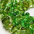 グリーンアンバー (天然琥珀)【さざれ連:約40cm】激安卸価格で限定販売ネックレス・ブレスレット作成に|グリーンアンバー|天然石|パワーストーン|連|連販売|さざれ