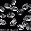 ハーキマーダイヤモンド 原石 ハーキマー 水晶 ダブルポイント DT 天然石 パワーストーン