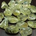 プレナイト タンブル オーストラリア産 磨き石 マクラメ ワイヤー 葡萄石 オンビル 天然石 アップストーン