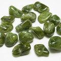 ベスビアナイト タンブル ライトカラー アイドクレース 磨き石 マクラメ オンビル 天然石 アップストーン