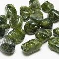 ベスビアナイト タンブル ダークカラー アイドクレース 磨き石 マクラメ オンビル 天然石 アップストーン