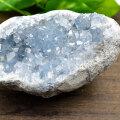 セレスタイト マダガスカル産 天青石 原石 結晶 置物 インテリア オンビル 天然石 アップストーン