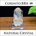 ブラジル コリント 水晶 単結晶 ポイント 原石 浄化 天然石 パワーストーン
